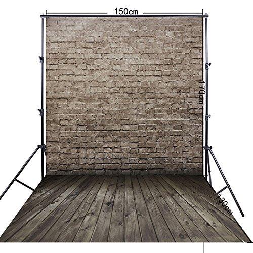 FiVan 5x10ft Diepe bakstenen muur fotografie achtergrond achtergrond Voor doek foto's FF-097