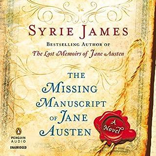 The Missing Manuscript of Jane Austen cover art