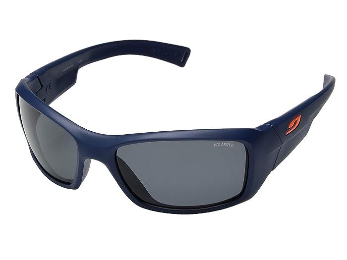 Julbo Eyewear Juniors Rookie (8-12 Years Old) (Blue Frame with Polar Junior Lenses) Athletic Performance Sport Sunglasses