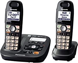Panasonic DECT 6.0 Plus Cordless Amplified Phone with Digital Answering System Expandable..