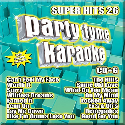 Party Tyme Karaoke - Super Hits 26 [16-song CD+G] by Party Tyme Karaoke (2016-08-03)