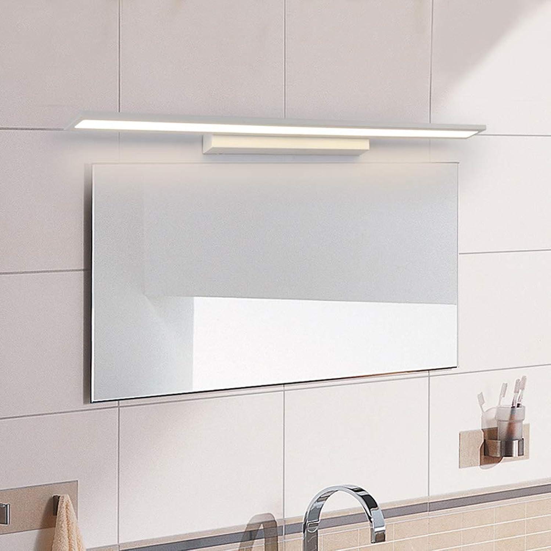 SSLW Badezimmerspiegelleuchte LED-Spiegelscheinwerfer Modern Minimalist Bathroom Vanity Mirror Light,Weiß,60x4x9cm