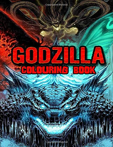Godzilla Colouring Book: Perfect Gift for Kids And Adults That Love Godzilla Movie And Comic With Over 50 Coloring Pages In High-Quality Images In Black And White. Great for Encouraging Creativity