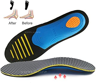 OLSZNDH 1 Pair Orthopedic Insoles Orthotics Flat Foot Sole Pad For Shoes Insert Arch Support Pad For Plantar Fasciitis Hea...