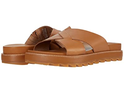 SOREL Roamingtm Crisscross Slide (Camel Brown) Women