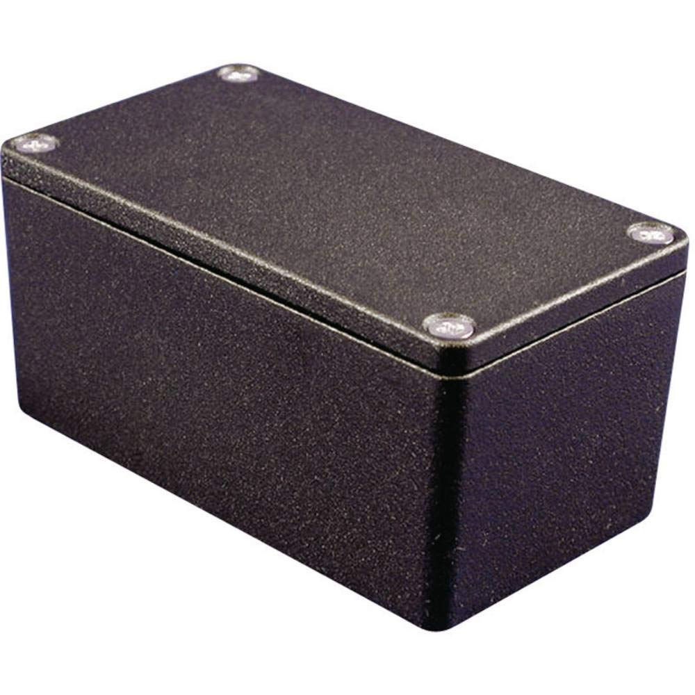 Hammond Enclosure Instrument Aluminium Regular store Black 1550Z101 Alloy - cheap