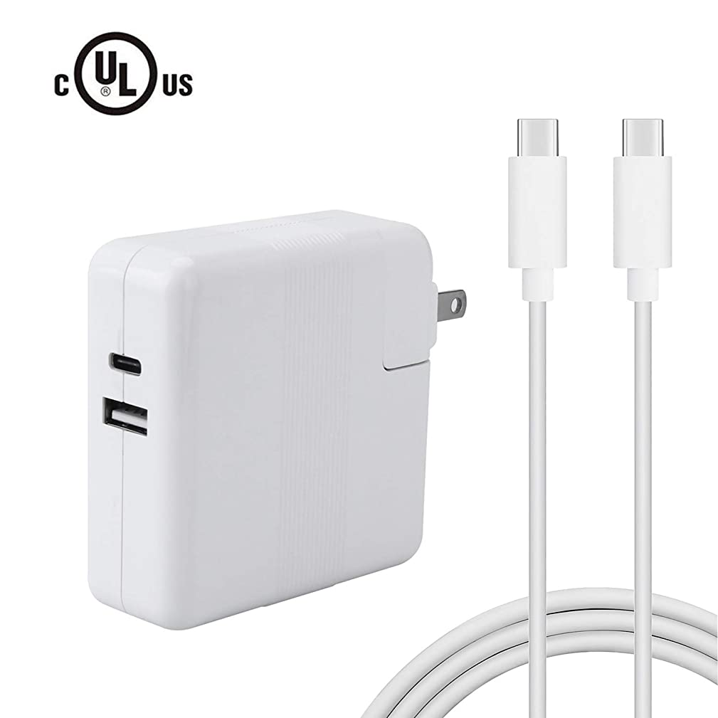 DPSPOWER 61W USB-C Power Adapter Compatible with MacBook Pro 13