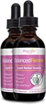 Balanced Femme - Herbal PMS and Menopause Support | All-Natural Liquid for 2X Absorption | Vitex, Dong Quai, Maca Root & More!