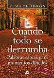 Cuando todo se derrumba: Palabras sabias para momentos difíciles (Budismo)