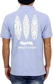 (グルーブオン) GROOVEON ポロシャツ メンズ 半袖 サーフ系 カジュアル カノコポロシャツ gosp4603