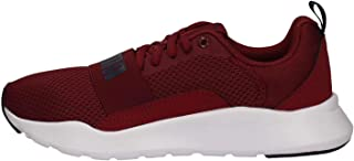 Puma Unisex Wired Jr Cordovan-Peacoat Sneakers-4 UK (37 EU) (5 Kids US) (36690106)