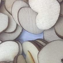 Pixnor Centro mixto forma 2 agujeros madera madera botones arte Scrapbooking paquete de 100