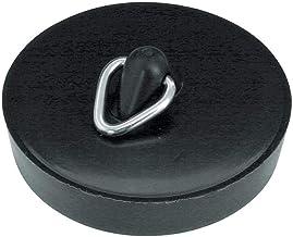 Home Xpert 2-częściowy zestaw korków do odpływu odpływu, Ø 45,5 mm, z haczykiem, czarny