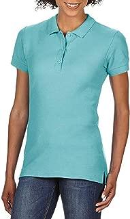Gildan Womens/Ladies Premium Cotton Sport Double Pique Polo Shirt