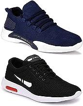 WORLD WEAR FOOTWEAR Men's Running Shoe (Set of 2 Pairs)
