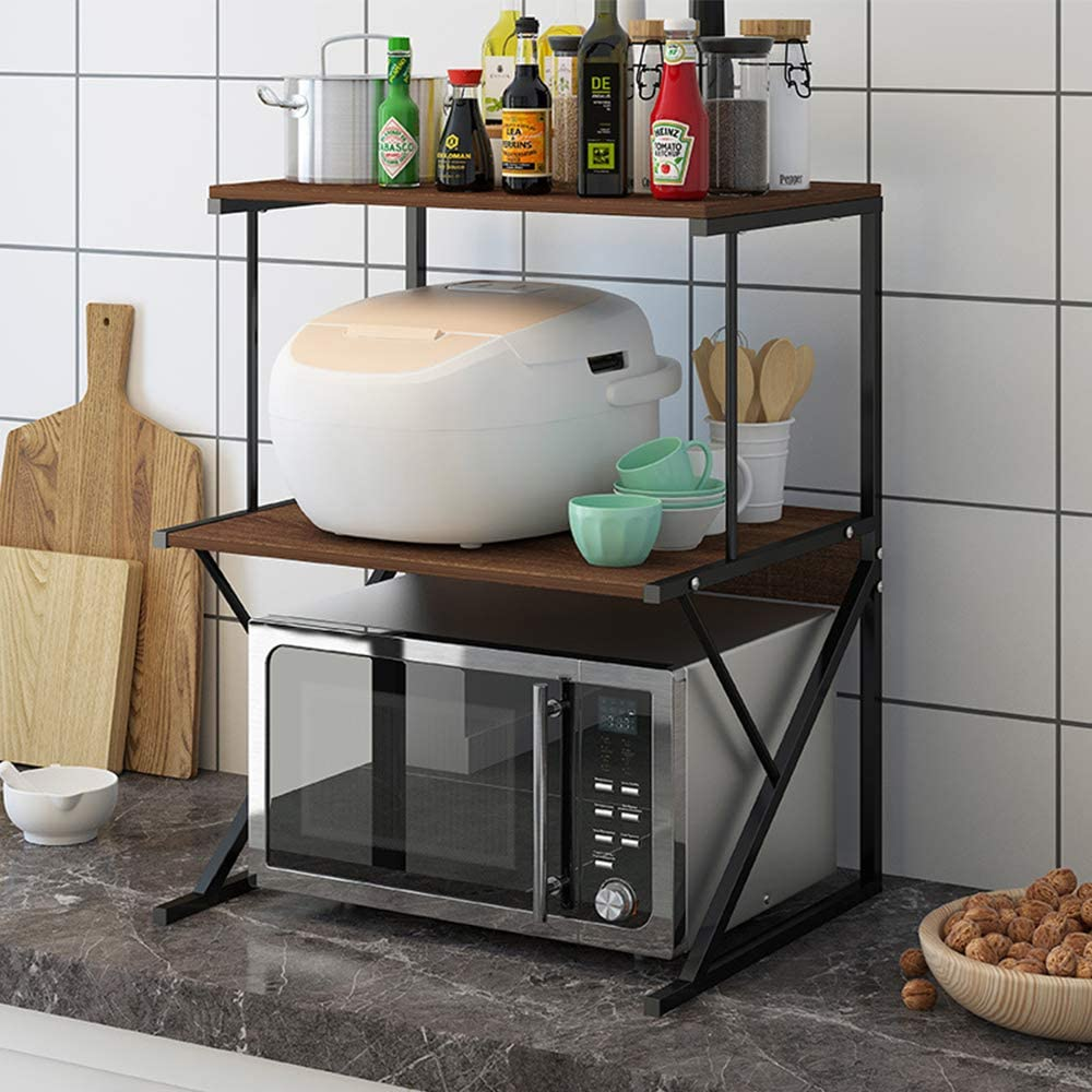 Kitchen Sale SALE% OFF Shelf BELIFEGLORY Spice Oven Rack Today's only Storage Microwave
