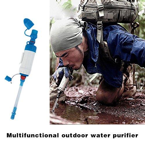 Espeedy Portable ABS Wasserfilter Camping Wandern Reiniger Reiniger Outdoor Wild Trinken Sicherheit Überleben Werkzeug