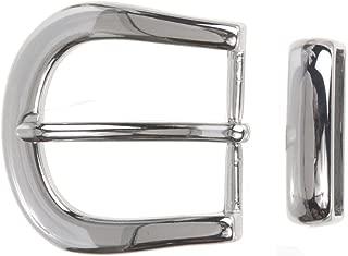 """1 1//2/"""" 38 mm Prong Pin Belt Buckle Waist belt buckle Horseshoe Silver Metal"""