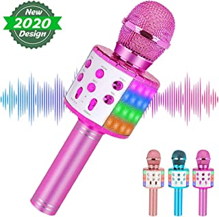 Wireless Karaoke Microphone Bluetooth for Adults and...