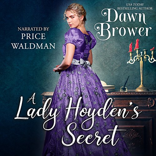 A Lady Hoyden's Secret audiobook cover art
