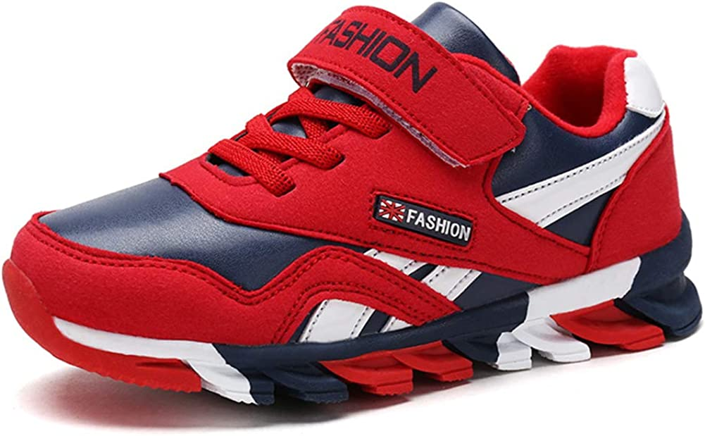 Z.SUO Boys Casual Strap Light Weight Sneakers Running Shoes Toddler//Little Kid//Big Kid