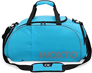 Travel Bag Gym Bag with Shoes Compartment and Wet Dry Storage Pockets Crossbody Handbags Travel Duffel Bag High Capacity Backpack