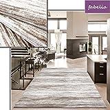 Alfombra moderna de lujo para lounge, estilo vintage, color marrón