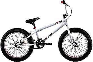 Mongoose Boys 20 Inch Stomp Bike - R1764TR, White/Red/Black