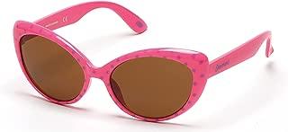 Girl's Se9006 SE9006 Cateye Sunglasses, Fuchsia, 51 mm
