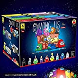 Among Us Block Game Model Minifigure Building Blocks Kit, Space Figure Model, Game Model Building Blocks Kit Bricks, Classic Kids Toy Tor Regalo para niños Mini estatuas