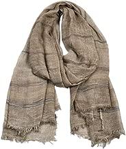 LUKALUKADA Unisex Winter Tassel Scarf Soft Winter Scarves Long Winter Scarves for Men Women