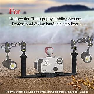 Sea frogs 水中カメラハウジングのためのアルミトレイ×グリップ