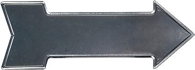 Amazon.com: Garneck Retro Vintage Tin Sign Metal Sign Arrow ...