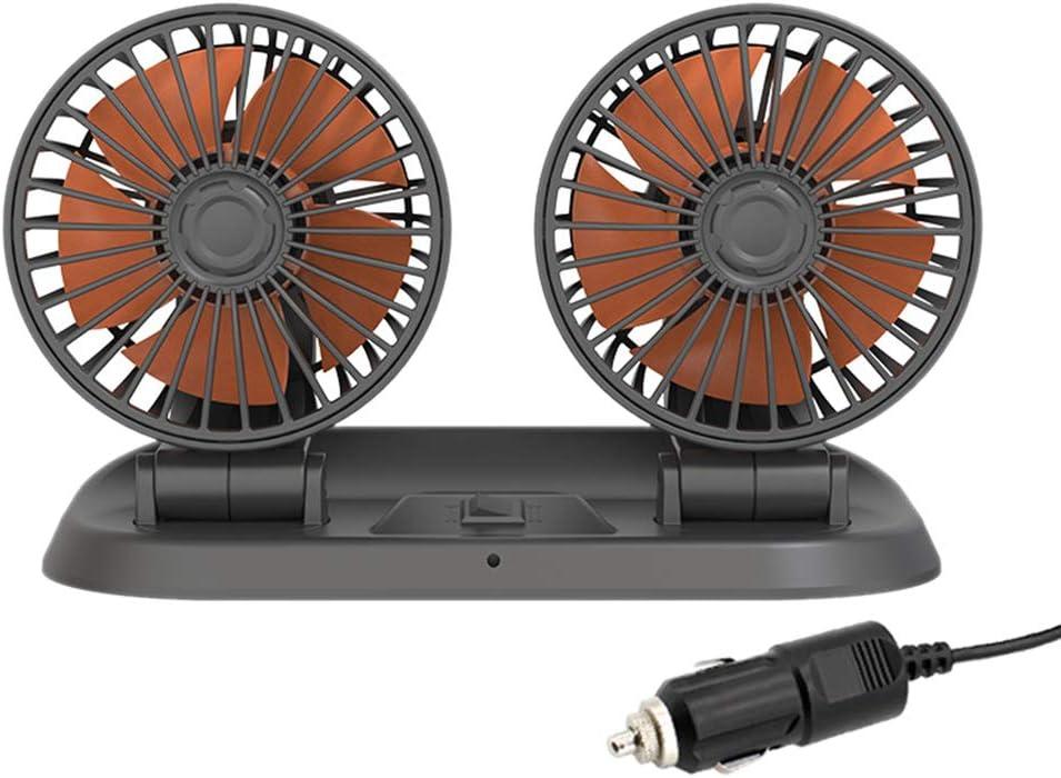 CHENGBEI price Portable Car Fan USB Small Fashionable Hea Mini Charging Double