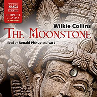 The Moonstone [Naxos AudioBooks Edition] audiobook cover art