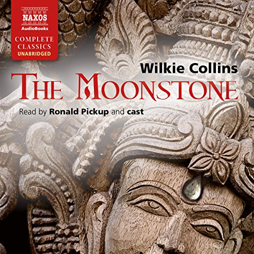 The Moonstone [Naxos AudioBooks Edition]  By  cover art