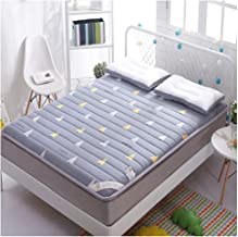 Tatami Mattress, Student Dormitory Single/Double Dormitory Bedroom Bed Mattress, Thick Warm Tatami Mattress,4 Colors for Y...