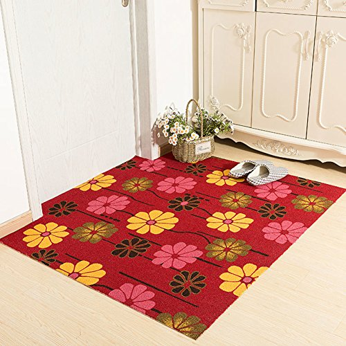 Xnxn Deur matten deuropening Tapijt Oppervlakte Tapijt voetpad Knuffel keuken huis volledige winkel waterdichte toiletten-G 60x120cm(24x47inch)