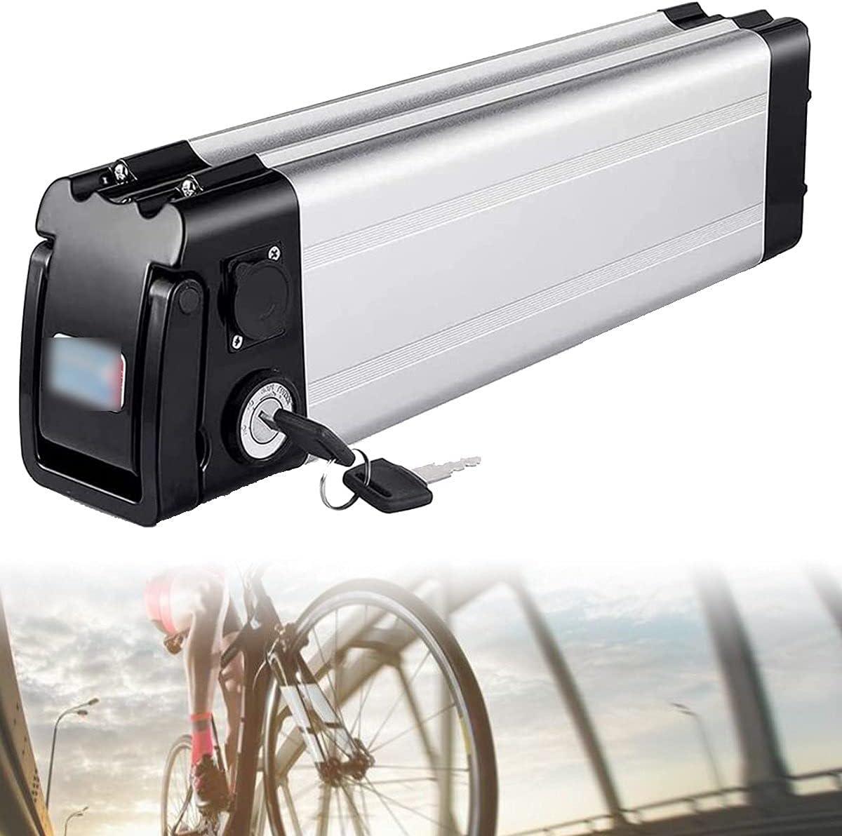 CHEIRS 24V/48V/36V 8AH/12Ah/10AH/15AH/20AH La batería de Iones de Litio para Bicicleta eléctrica es Adecuada para Motores de 250W 350W,36v/8ah
