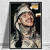 Aaubsk Puzzle 1000 Piezas Rapero Hip Hop New Music Singer Star Series 14 Art Gifts Puzzle 1000 Piezas educa Rompecabezas de Juguete de descompresión Intelectual Colorido Juego de ub50x75cm(20x30inch)