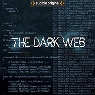 The Dark Web audiobook cover art