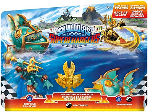Popular shop is the lowest price challenge Max 78% OFF Skylanders SuperChargers: Racing Sea Pack