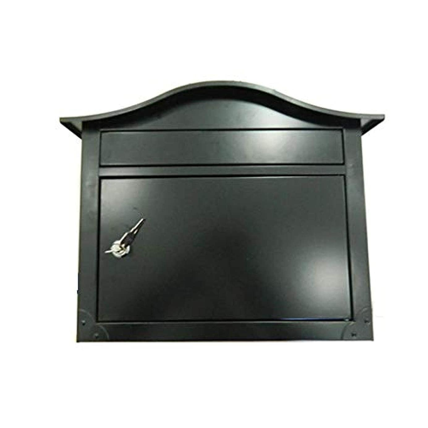 着るうれしいかごメールボックス 大規模な屋外外装スチールウォールマウントメールボックス縦型ポストボックスでロックのドアレターボックス郵便ロック郵便受け ~YANYQ