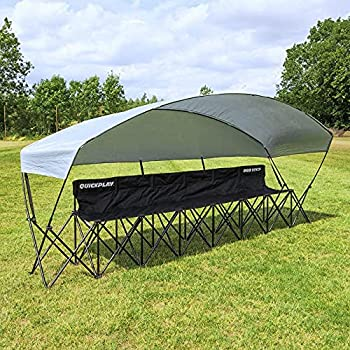 QUICKPLAY 6 Seat Camping Chair with Shelter   Perfect for Family Camping and Sports Team