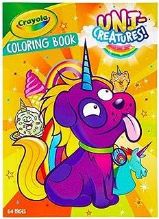 Crayola - Uni-Creatures Coloring Book