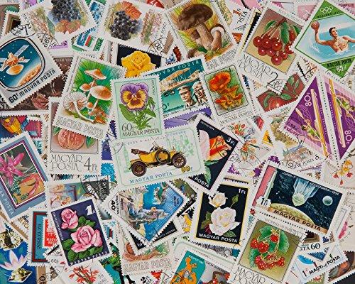 Goldhahn 200 Ungarn Briefmarken für Sammler