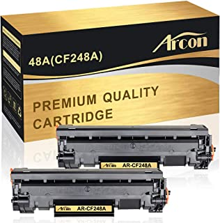 Arcon Compatible Toner Cartridge Replacement for HP 48A CF248A HP M15W HP M28W M29W HP Laserjet Pro M15w M15a M16a M16w HP Laserjet MFP M28w M28a M29a MFP M29w 48A CF248A Printer Toner(Black,2Packs)