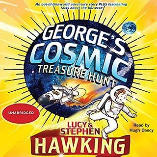 George's Cosmic Treasure Hunt audiobook cover art