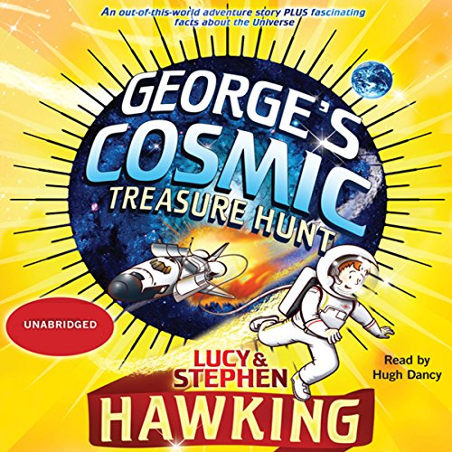 George's Cosmic Treasure Hunt audiobook cover art