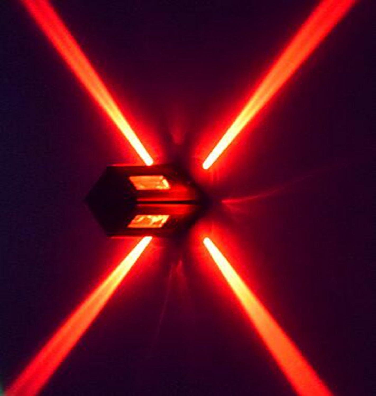 LED-Leuchten, dekorative Lampen, Lichtleisten, bar Wandleuchten, kreative Wandleuchten,Rot,,A++